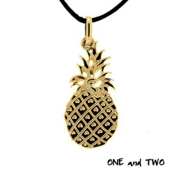 Collier ananas stylisé